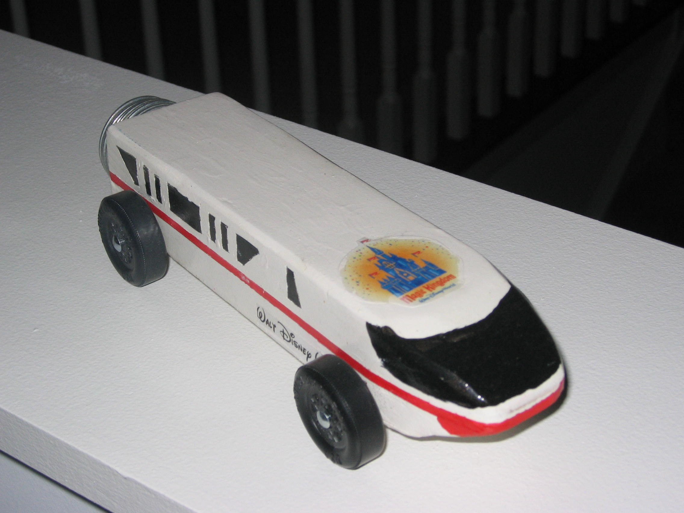 Disney Pinewood Derby Car